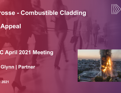 The Appeal / Lacrosse – Combustible Cladding