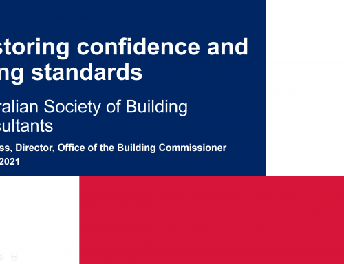 Director of the Office of NSW Building Commissioner April 2021
